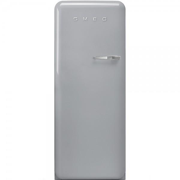 Smeg FAB28LSV5 Standkühlschrank mit Gefrierfach Polarsilber Linksanschlag