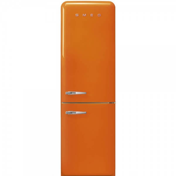 Smeg FAB32ROR3 Stand-Kühl-/Gefrierkombination Orange 50's Retro Style