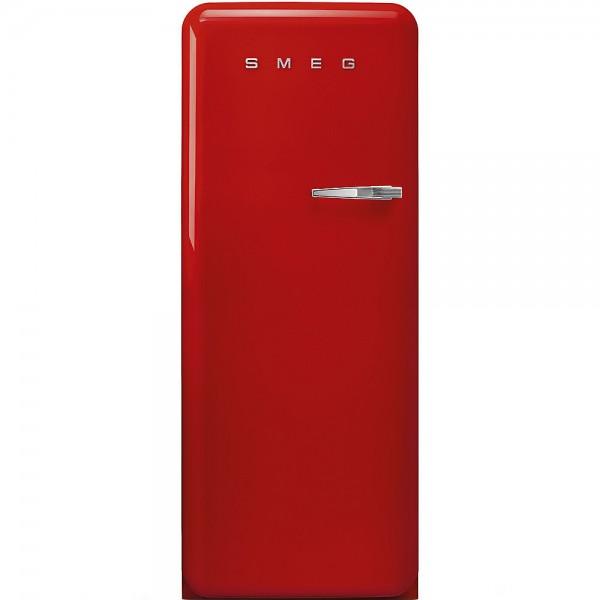 Smeg FAB28LRD3 Standkühlschrank mit Gefrierfach Rot Linksanschlag