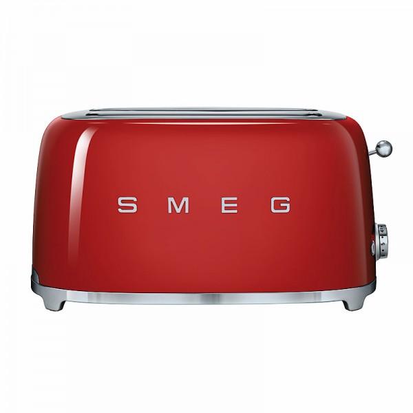 smeg tsf02rdeu 4 scheiben toaster g nstig online kaufen. Black Bedroom Furniture Sets. Home Design Ideas