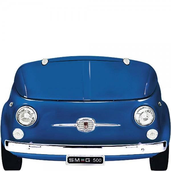 Smeg SMEG500BL Kühlvitrine-Minibar im FIAT 500 Blau 50's Retro Style