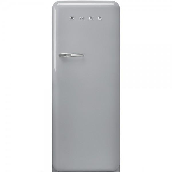Smeg FAB28RSV3 Standkühlschrank mit Gefrierfach Polarsilber Rechtsanschlag