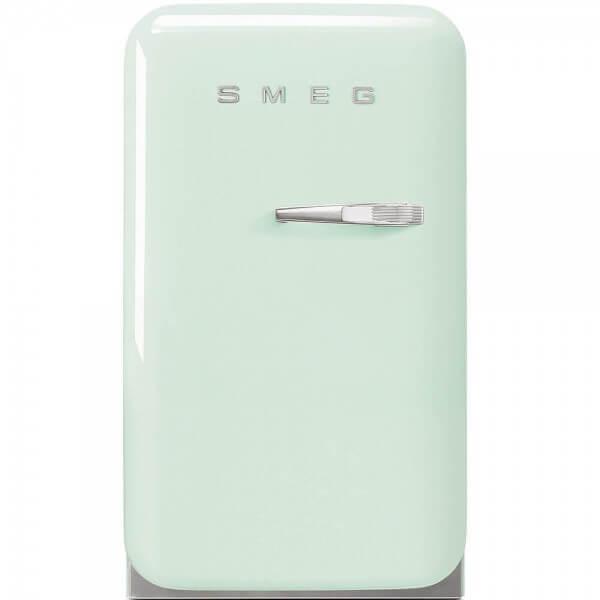 Smeg FAB5LPG Minibar Standkühlschrank Pastellgrün 50's Retro Style