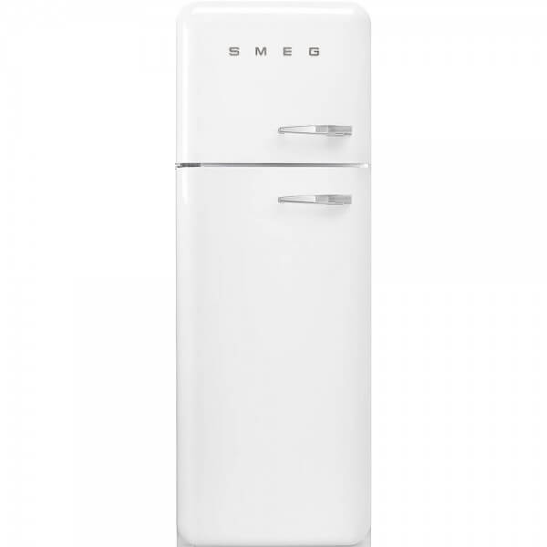 Smeg FAB30LWH3 Stand-Kühl-/Gefrierkombination Weiß 50's Retro Style