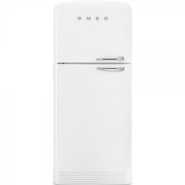 Smeg FAB50LWH Standkühl-Gefrierkombination Weiß 50's Retro Style