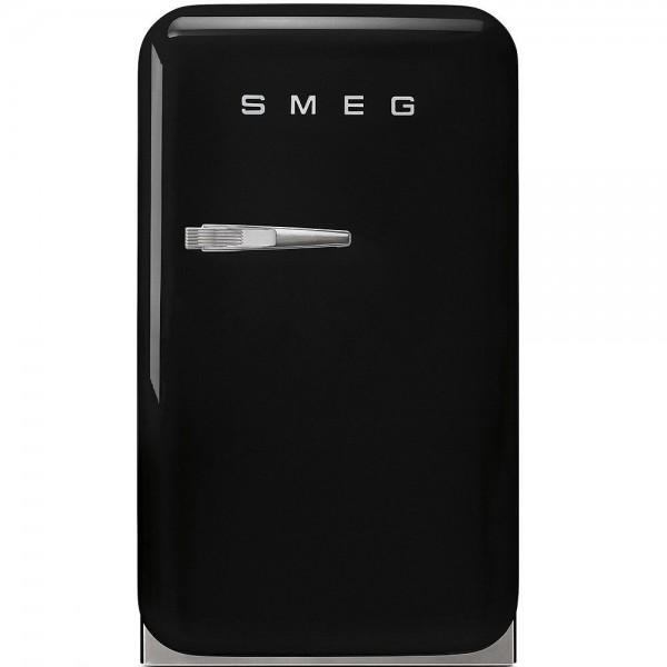 Smeg FAB5RBL Minibar Standkühlschrank Schwarz 50's Retro Style