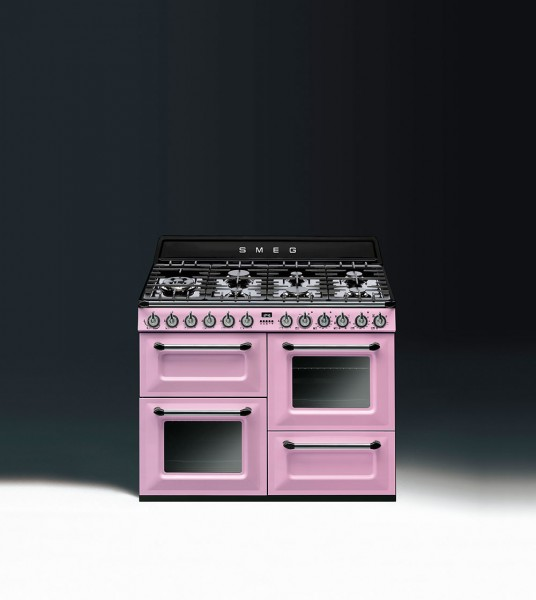 Smeg TR4110ROD Kochzentrum Cadillac Pink
