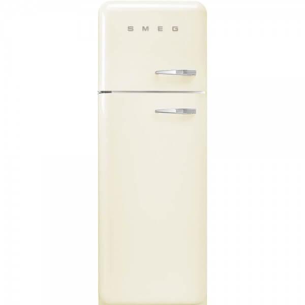 Smeg FAB30LCR3 Stand-Kühl-/Gefrierkombination Creme 50's Retro Style