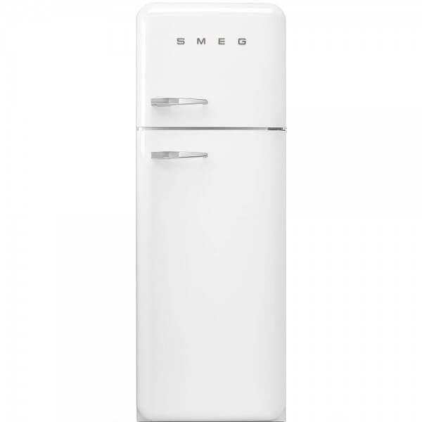 Smeg FAB30RB1 Stand-Kühlgefrierkombination Weiss Rechtsanschlag