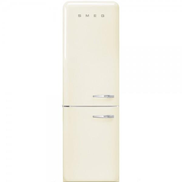 Smeg FAB32LCR3 Standkühl- Gefrierkombination No Frost Creme Linksanschlag