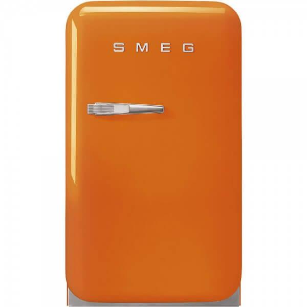 Smeg FAB5ROR3 Minibar Stand-Kühlschrank Orange 50's Retro Style