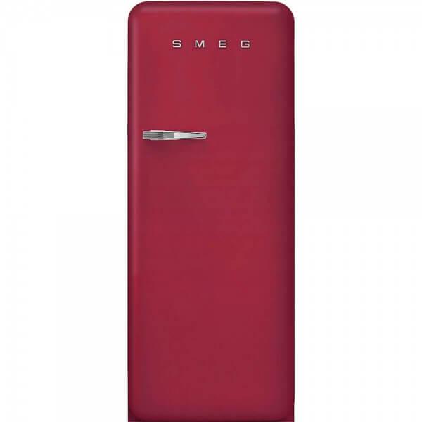 Smeg FAB28RDRB3 Standkühlschrank mit Gefrierfach Ruby Red Rechtsanschlag