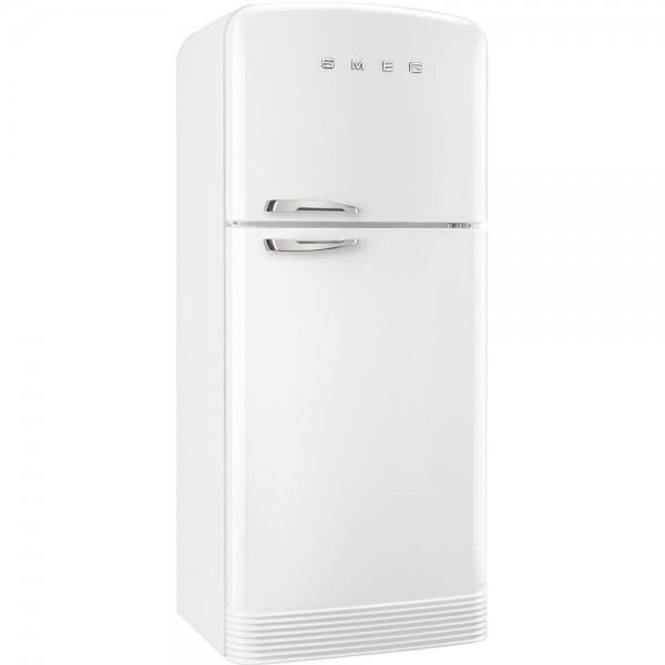 Smeg FAB50RWH5 Standkühl-Gefrierkombination Weiß 80 cm 50's Retro Style