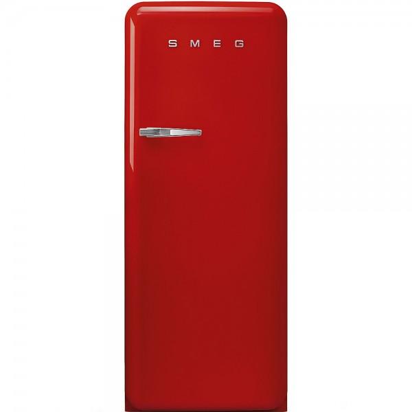 Smeg FAB28RRD3 Standkühlschrank mit Gefrierfach Rot Rechtsanschlag