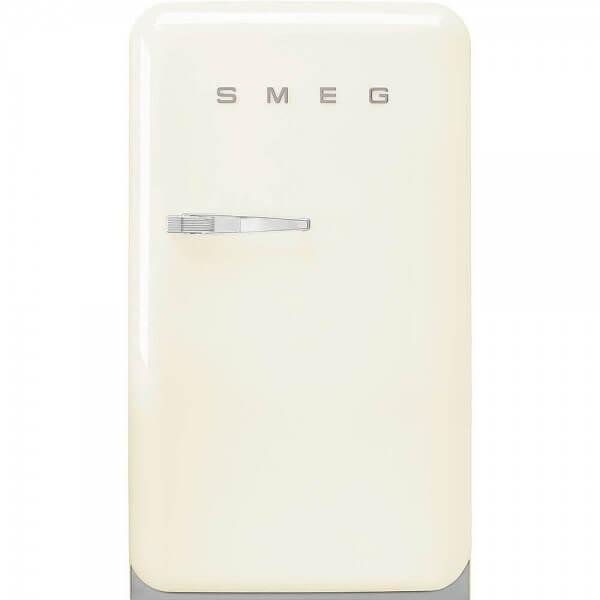Smeg FAB10RCR5 Standkühlschrank mit Gefrierfach Creme