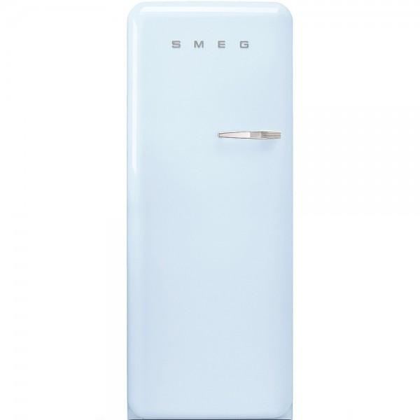 Smeg FAB28LPB5 Standkühlschrank mit Gefrierfach Pastellblau Linksanschlag