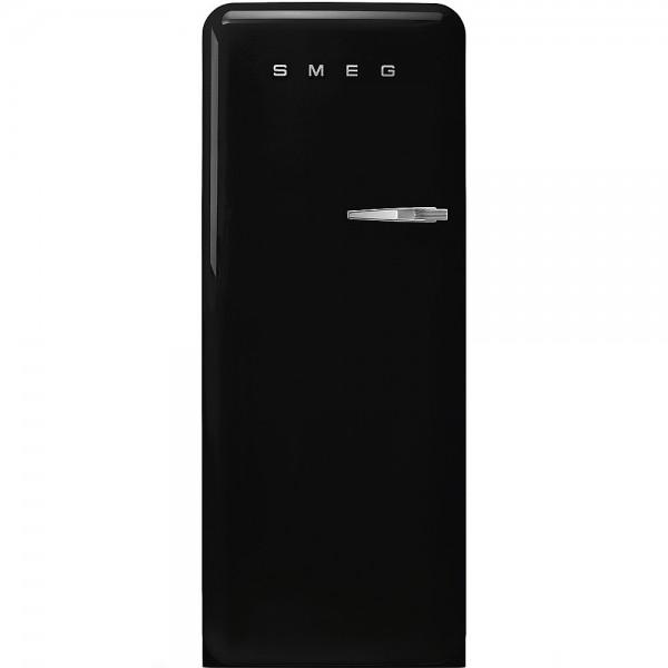 Smeg FAB28LBL3 Standkühlschrank mit Gefrierfach Schwarz Linksanschlag