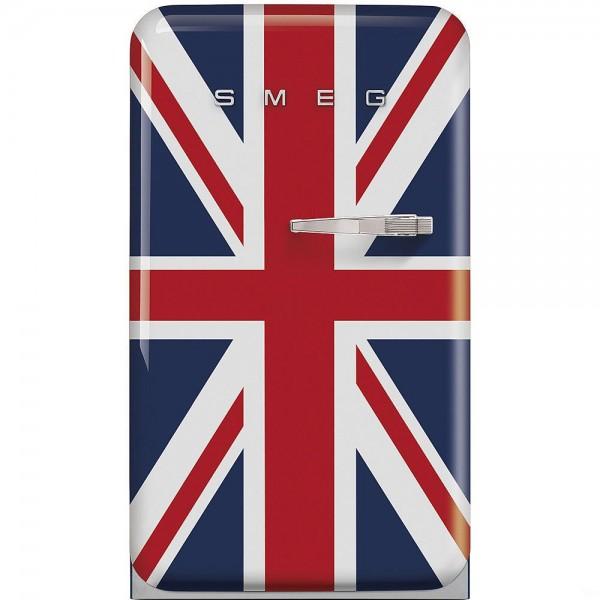 Smeg FAB10LUJ Standkühlschrank mit Gefrierfach Union Jack 50's Retro Style