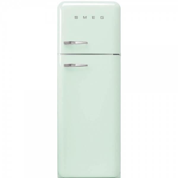 Smeg FAB30RV1 Standkühlschrank mit Gefrierraum Pastellgrün Rechtsanschlag