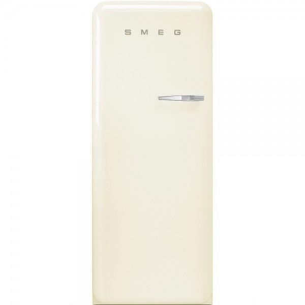 Smeg FAB28LCR3 Standkühlschrank mit Gefrierfach Creme Linksanschlag