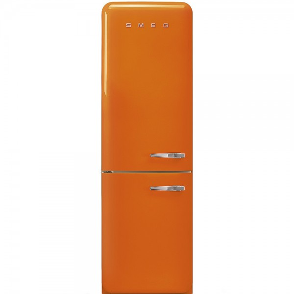 Smeg FAB32LOR3 Standkühl- Gefrierkombination No Frost Orange Linksanschlag