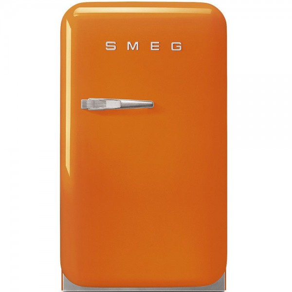 Smeg FAB5ROR Minibar Standkühlschrank Orange 50's Retro Style