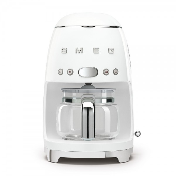 Smeg DCF02WHEU Filterkaffeemaschine Weiß