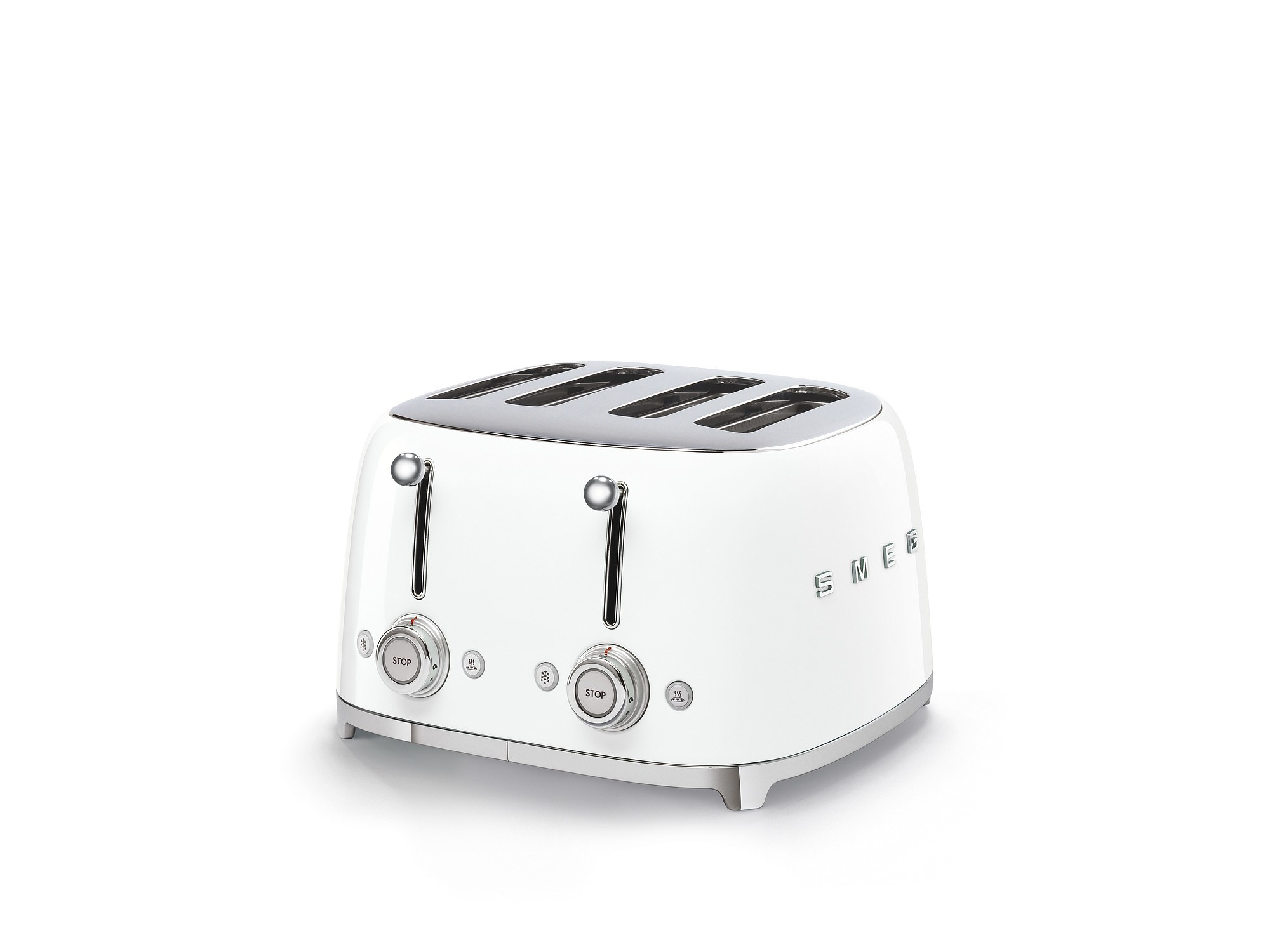 Smeg Kühlschrank Dolce Gabbana : Smeg tsf03wheu 4 schlitz toaster weiß günstig online kaufen