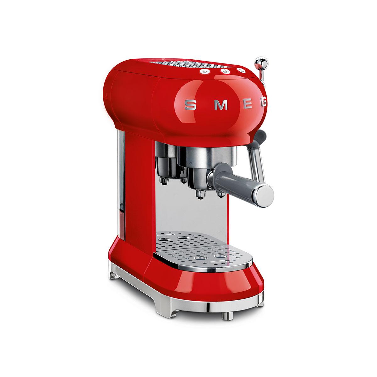 smeg espressomaschinen ecf01 g nstig online kaufen versandkostenfrei. Black Bedroom Furniture Sets. Home Design Ideas