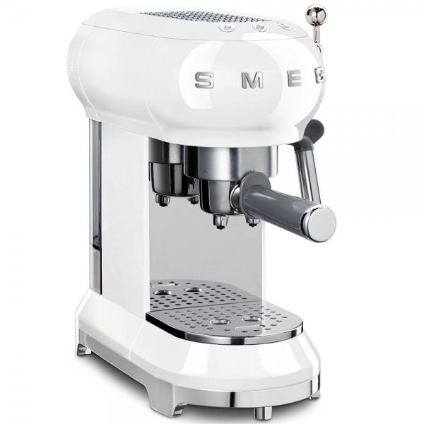 Smeg ECF01WHEU Espresso-Kaffeemaschine Weiss