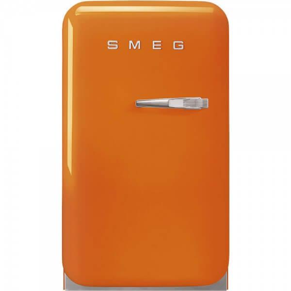 Smeg FAB5LOR3 Minibar Stand-Kühlschrank Orange 50's Retro Style
