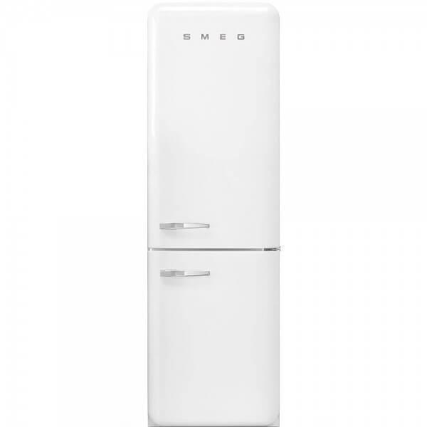Smeg FAB32RWH3 Stand-Kühl-/Gefrierkombination Weiß 50' Retro Style