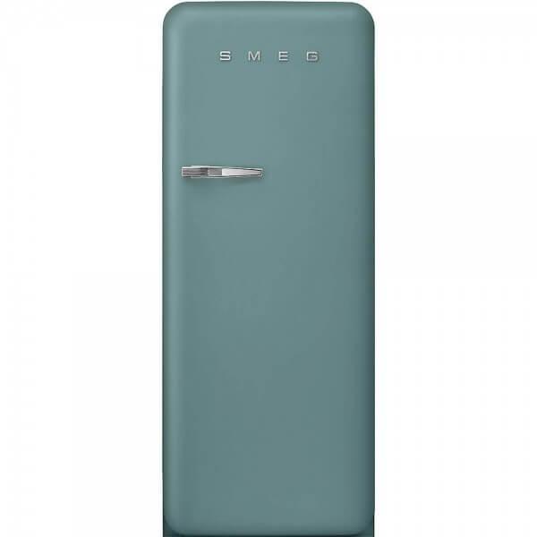 Smeg FAB28RDEG3 Standkühlschrank mit Gefrierfach Emerald Green Rechtsanschlag